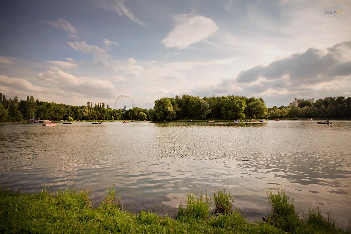Измайловский парк летом 2013 года