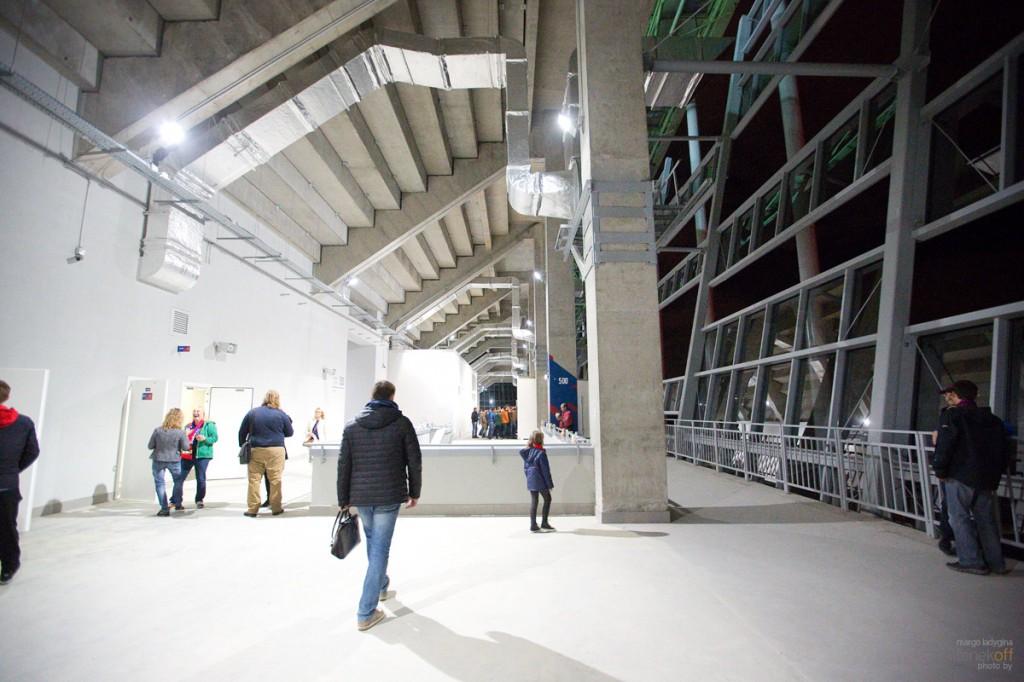 Стадион ЦСКА, подтрибунное помещение