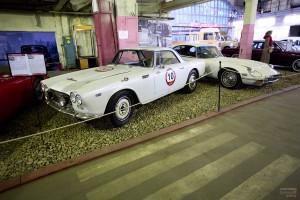 Lancia Flaminia GT. Музей Московский транспорт