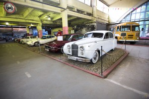 Jaguar Mark VII. Музей Московский транспорт