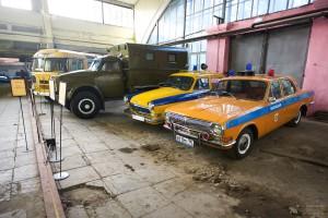 Служебные машины ГАЗ. Музей Московский транспорт