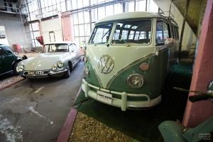 Знаменитый хиппи-автобус от Фольксваген. Музей Московский транспорт