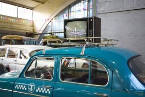 Такси. Музей Московский транспорт
