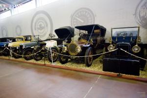Экспозиция музея Московский транспорт