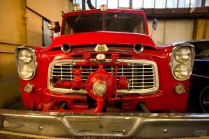 Пожарный автомобиль Интернейшинал. Музей Московский транспорт