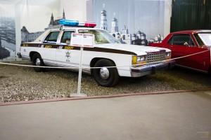 Классика полицейских американских автомобилей - Форд Краун Виктория