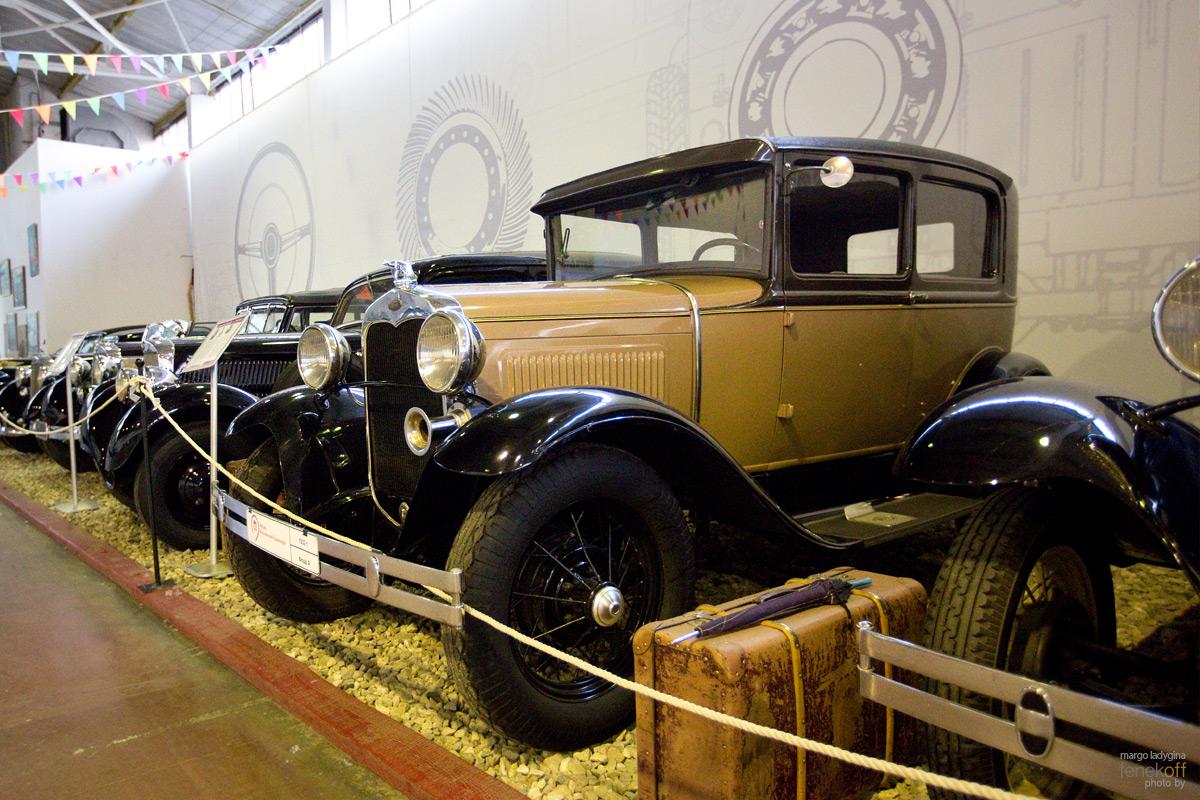 Знаменитый Ford A. Музей Московский транспорт