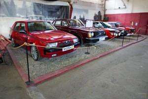 Alfa-Romeo, Volvo, Lancia, Maserati и Москвич. Музей Московский транспорт