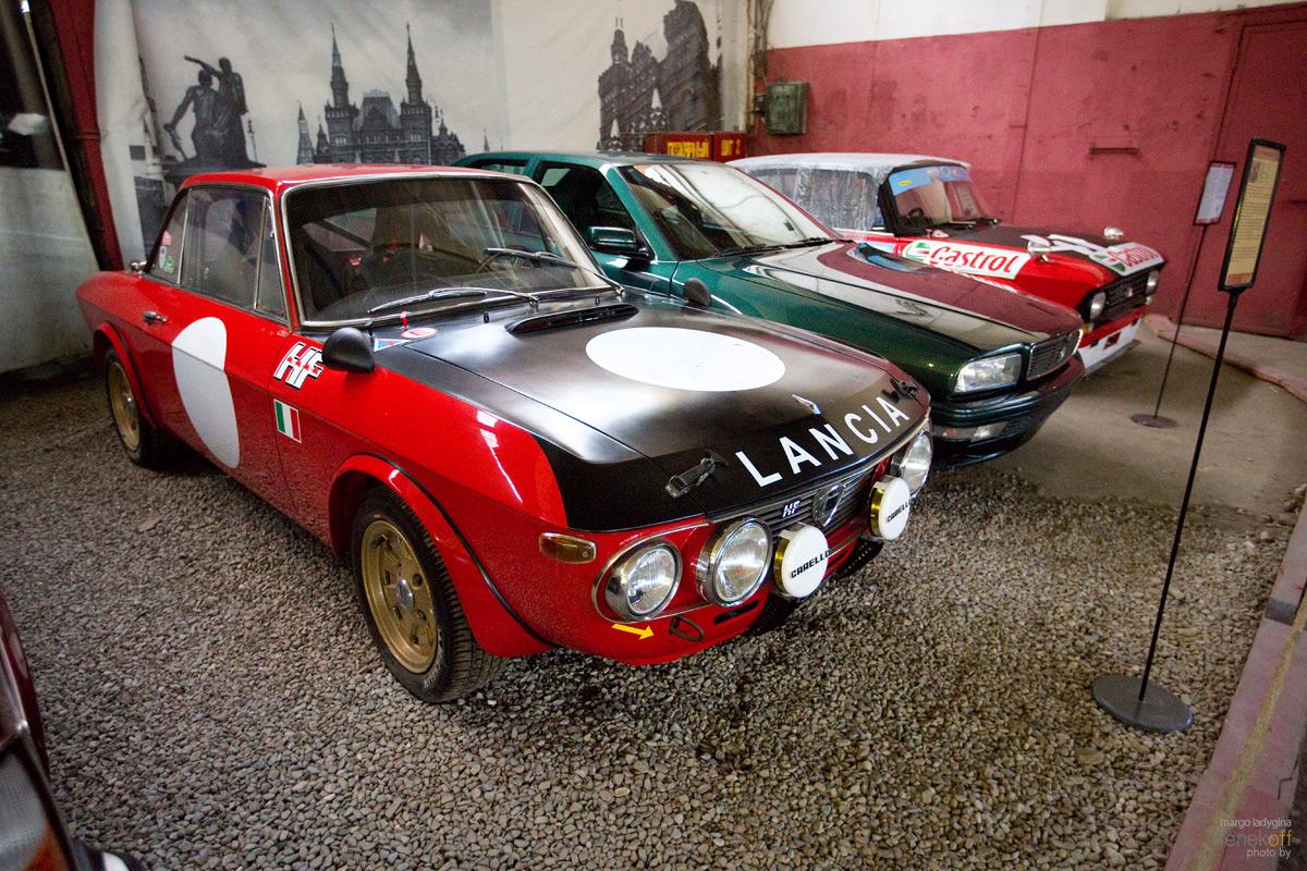 Lancia Fulvia Rallye 1,6. Музей Московский транспорт
