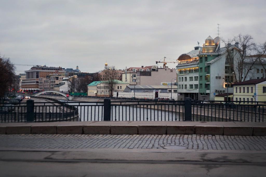 Водоотводной канал, Москва