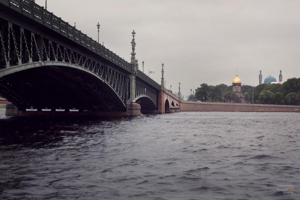 Троицкий мост, Санкт-Петербург