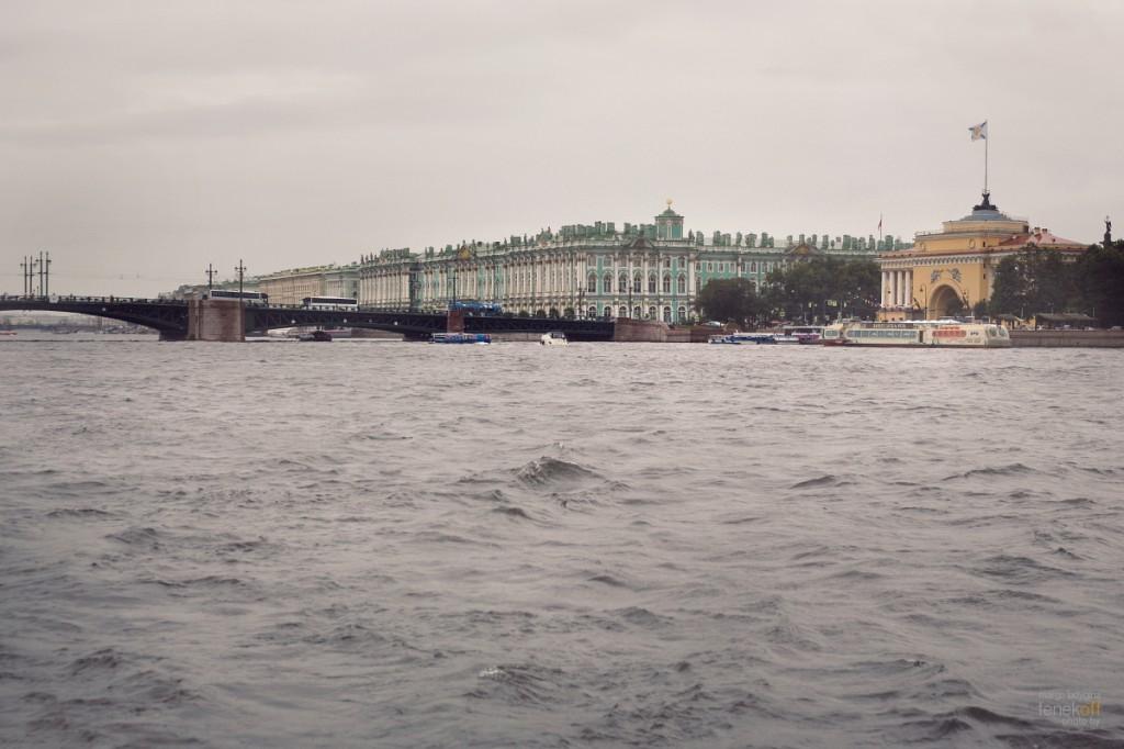 Зимний дворец и Дворцовый мост