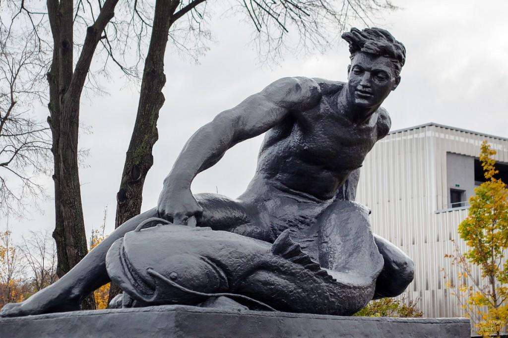 """Скульптура, которую я бы назвала """"на зависть всем рыбакам"""""""