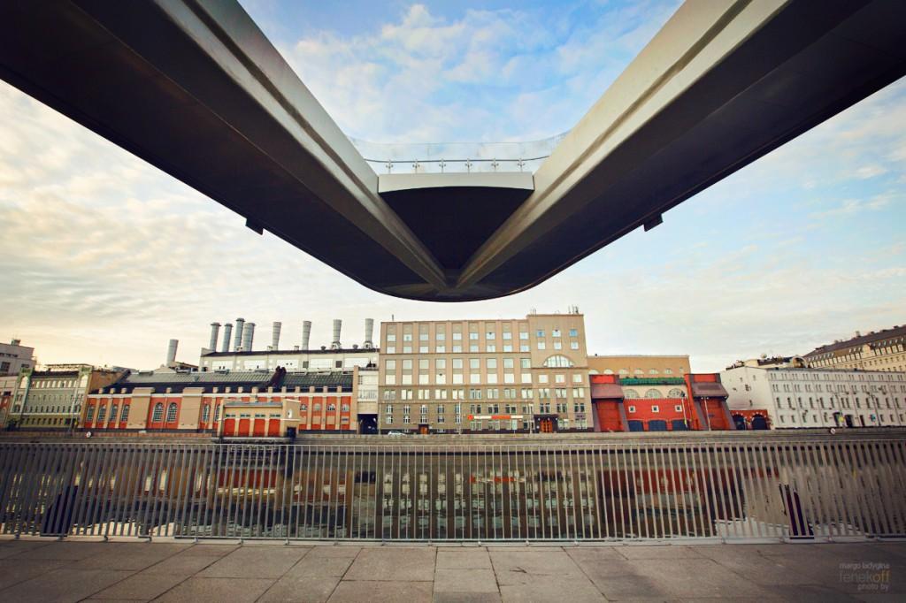 Парящий мост в Зарядье