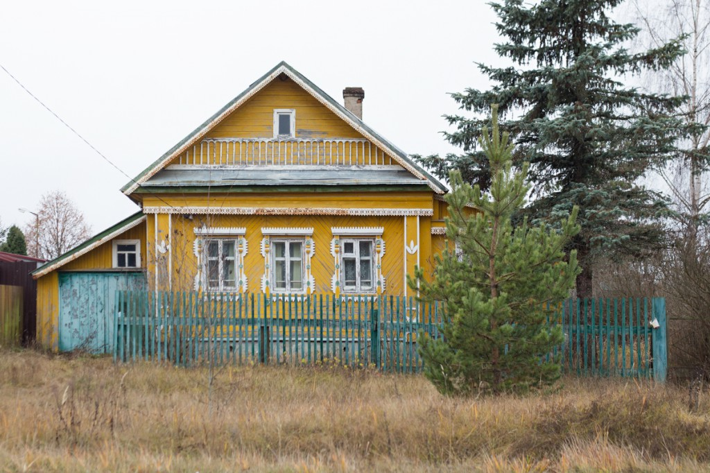 Домики вокруг Переславля