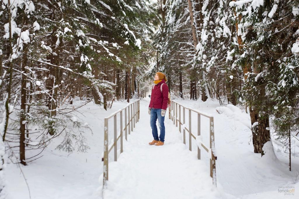 Маргоша в лесу