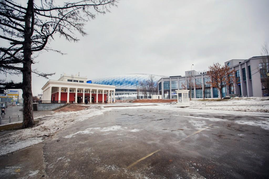 Стадион Динамо, метро Динамо