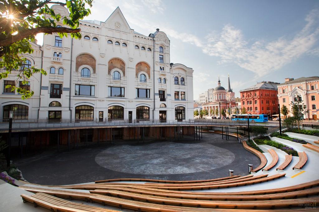 Новое пространство у Политехнического музея