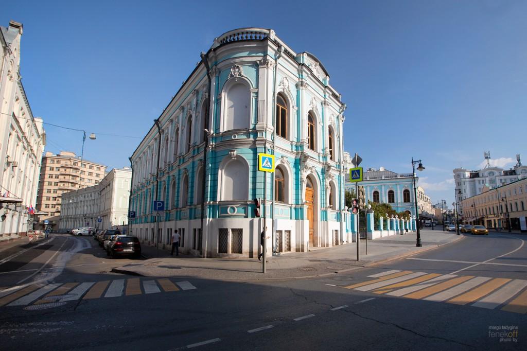 Усадьба Салтыковых-Чертковых на Мясницкой