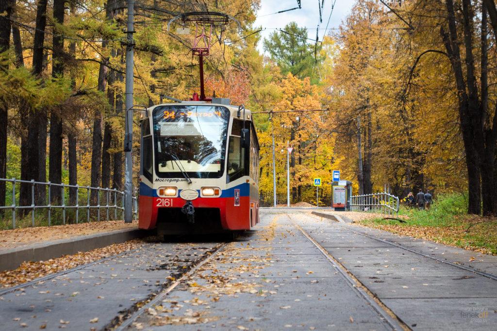 Трамвай в Измайлово