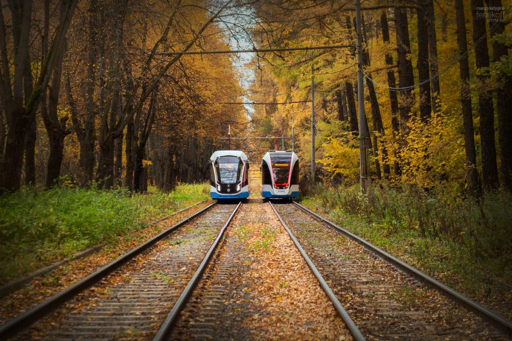 Трамваи в Измайлово