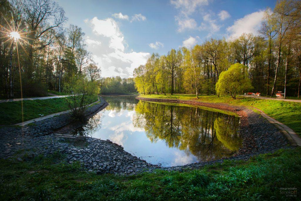 Средний Лианозовский пруд